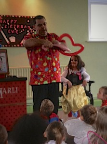 Childrens Entertainer Sidcup - Marli The Magician with Evie