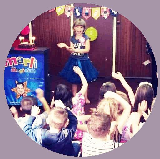 childrens magician marli