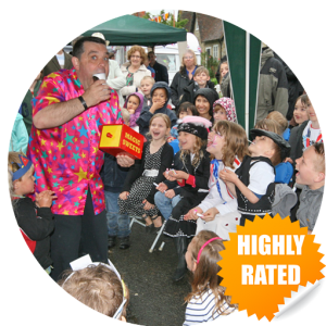 Highly rated childrens entertainer in kent Marli the Magician