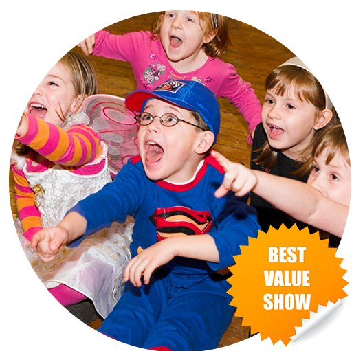Best value for childrens entertainer in kent for kent kids parties