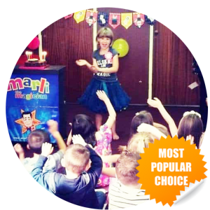 Popular choice for kent kids parties - Marli Magic