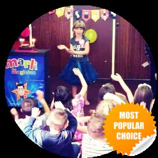 Popular choice for kent kids parties - Marli Magic