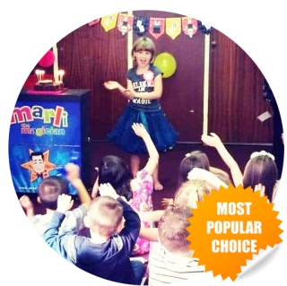 most popular childrens entertainer is East Sussex  package  for kids parties east sussex